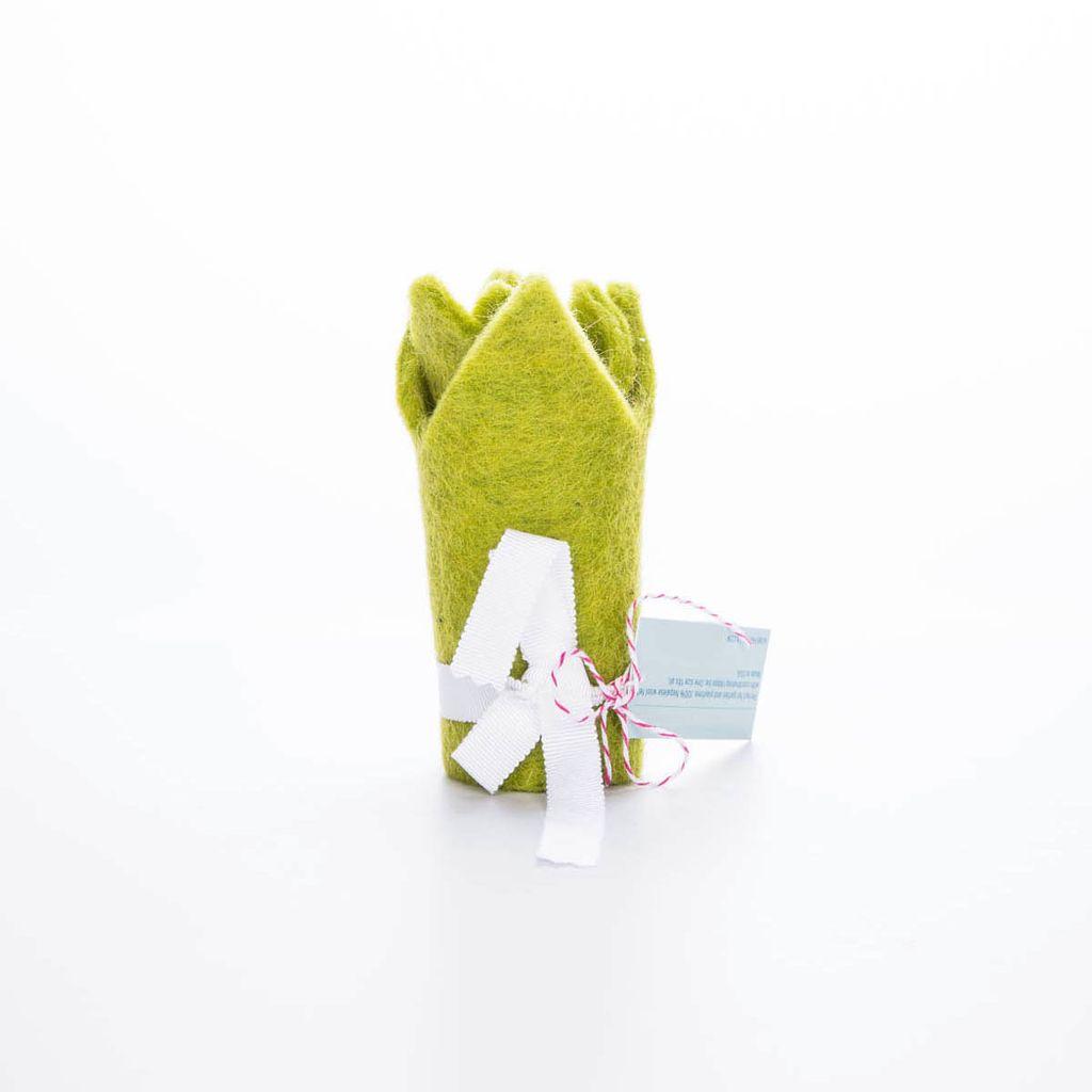 acme party box co. Green Felt Crown
