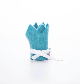 acme party box co. Blue Felt Crown