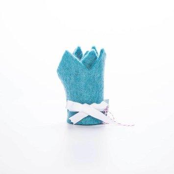 acme party box co. Blue Felt Crown