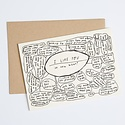 People I've Loved I Like You Flowchart Card