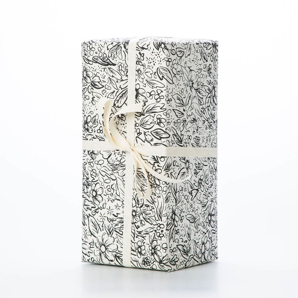 Brainstorm Print and Design Floral Wrap Sheet