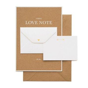 Sugar Paper - SUG SUGGCVD0006 - Little Love Note Kraft