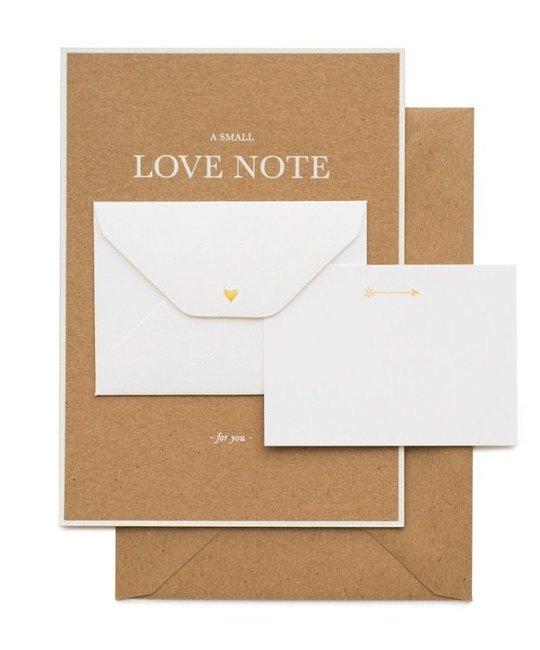 Sugar Paper Kraft Little Love Note