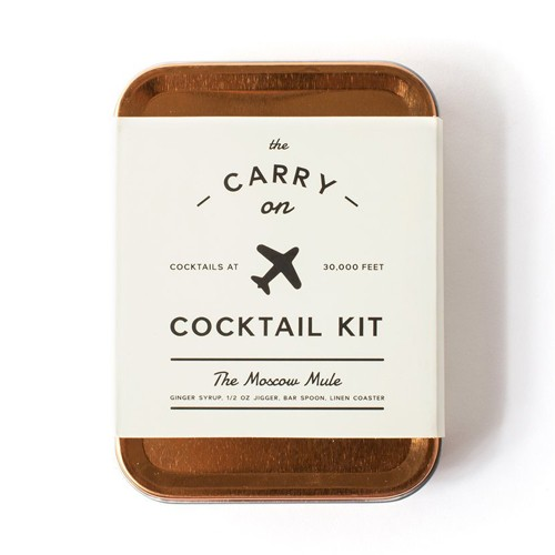 w and p design Moscow Mule Carry On Cocktail Kit
