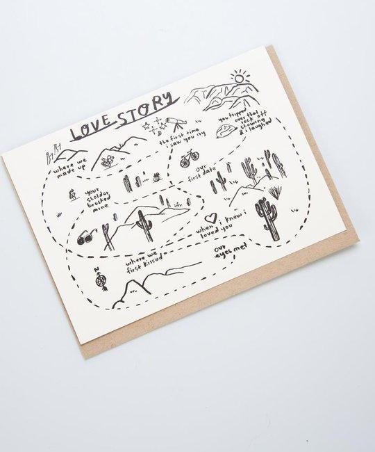 People I've Loved Love Story Card