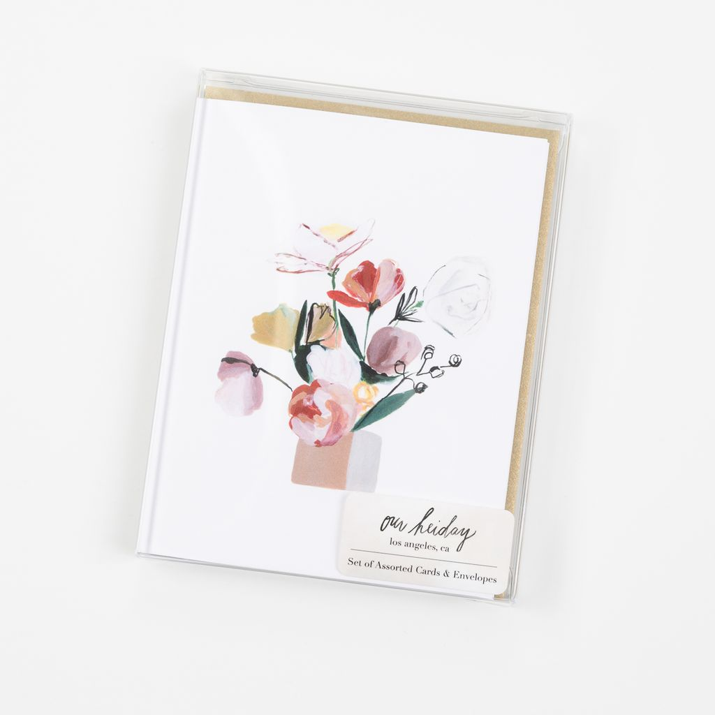 Our Heiday - OH OH NSMI - Bouquet Mixed Note Set, Set of 6