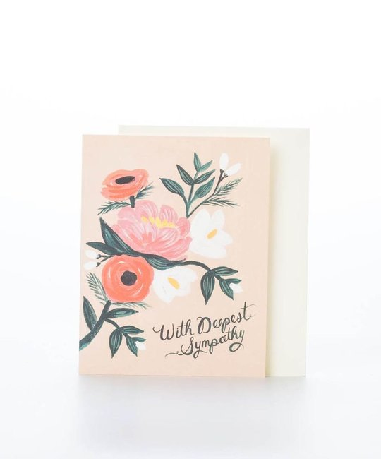 Rifle Paper Co. With Deepest Sympathy Card
