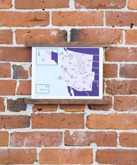 Brainstorm Print and Design - BS American Atlas West Print
