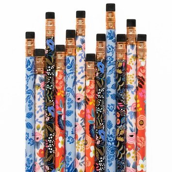 Rifle Paper Co. Floral Pencil Set
