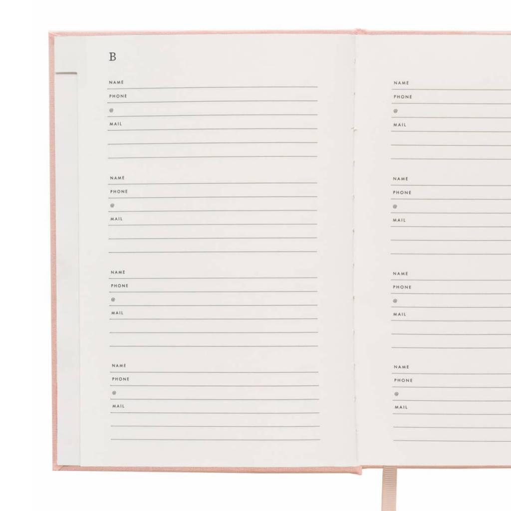 Rifle Paper Co. Blush Adress Book