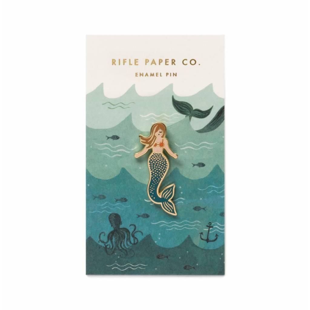 Rifle Paper Co. Mermaid Enamel Pin