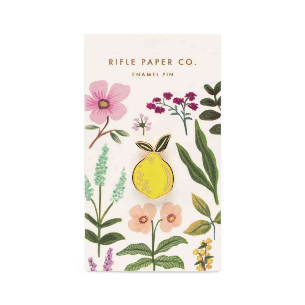 Rifle Paper Co. Lemon Enamel Pin