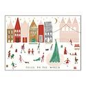 Mr. Boddington's Studio - MB Peace to the World Single Greeting Card