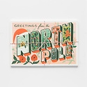 Rifle Paper Co - RP Greetings from the North Pole Postcards