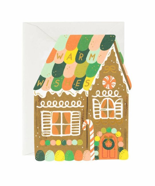 Rifle Paper Co. Warm Wishes Gingerbread House