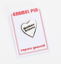 The Found Human Rights Enamel Pin