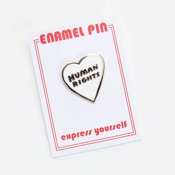 The Found - TF Human Rights Enamel Pin