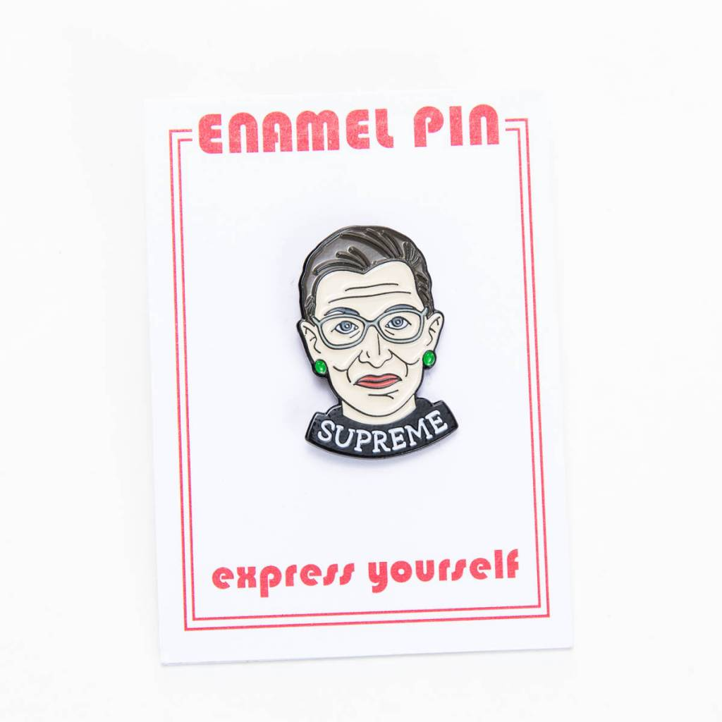 The Found Ruth Supreme Pin