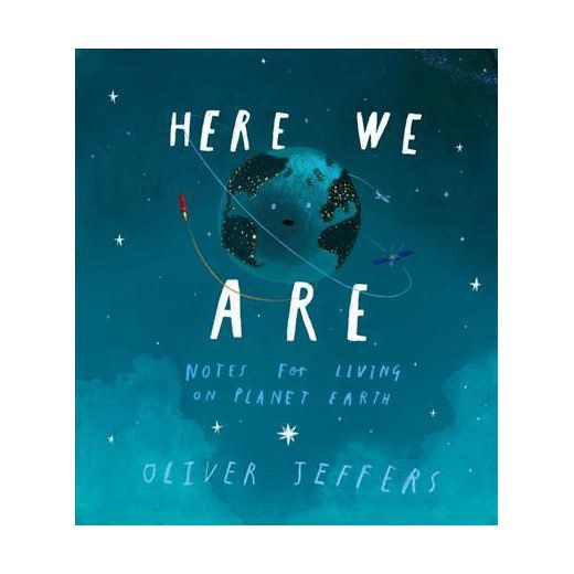 penguin books Here We Are by Oliver Jeffers