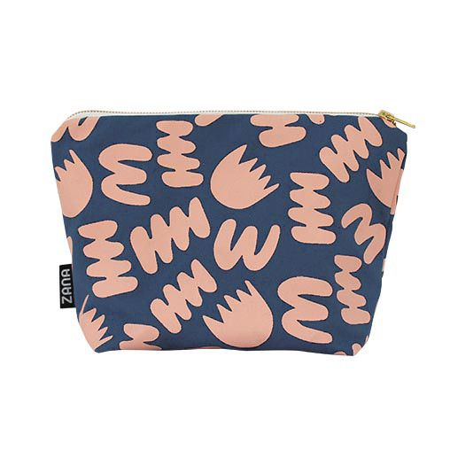 Zana Blue Bunch Toiletry Travel Pouch