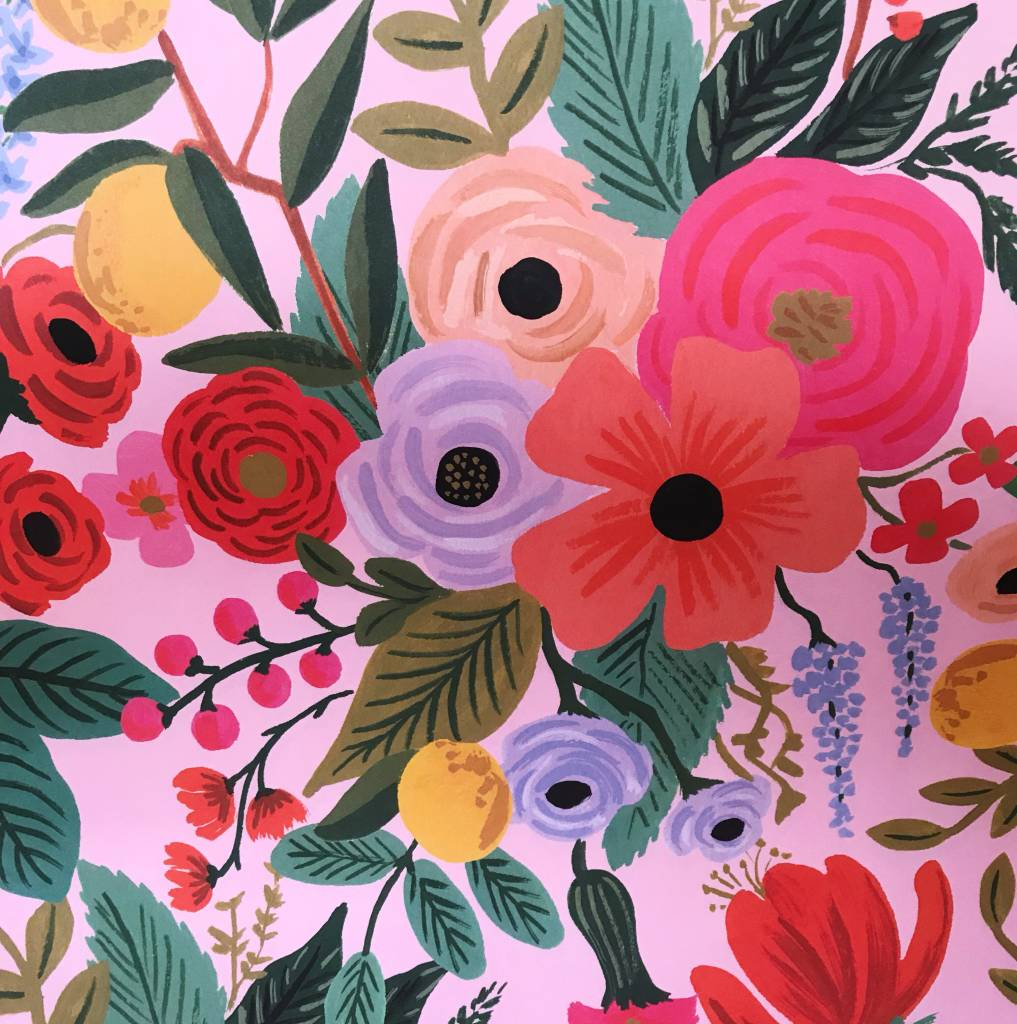 "Rifle Paper Co. Garden Party Wrap Sheet (19.5"" x 27"")"