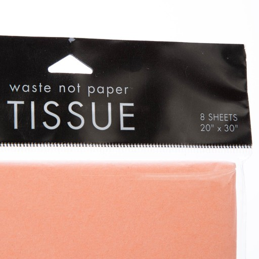 Waste Not Paper WN TP - coral tissue, 8 sheets