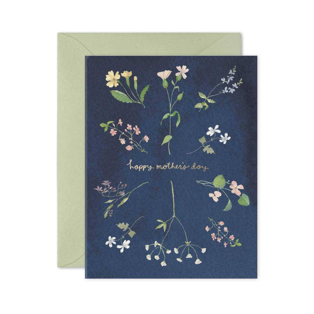 E. Frances Paper Studio Mother's Day Wildflowers Card