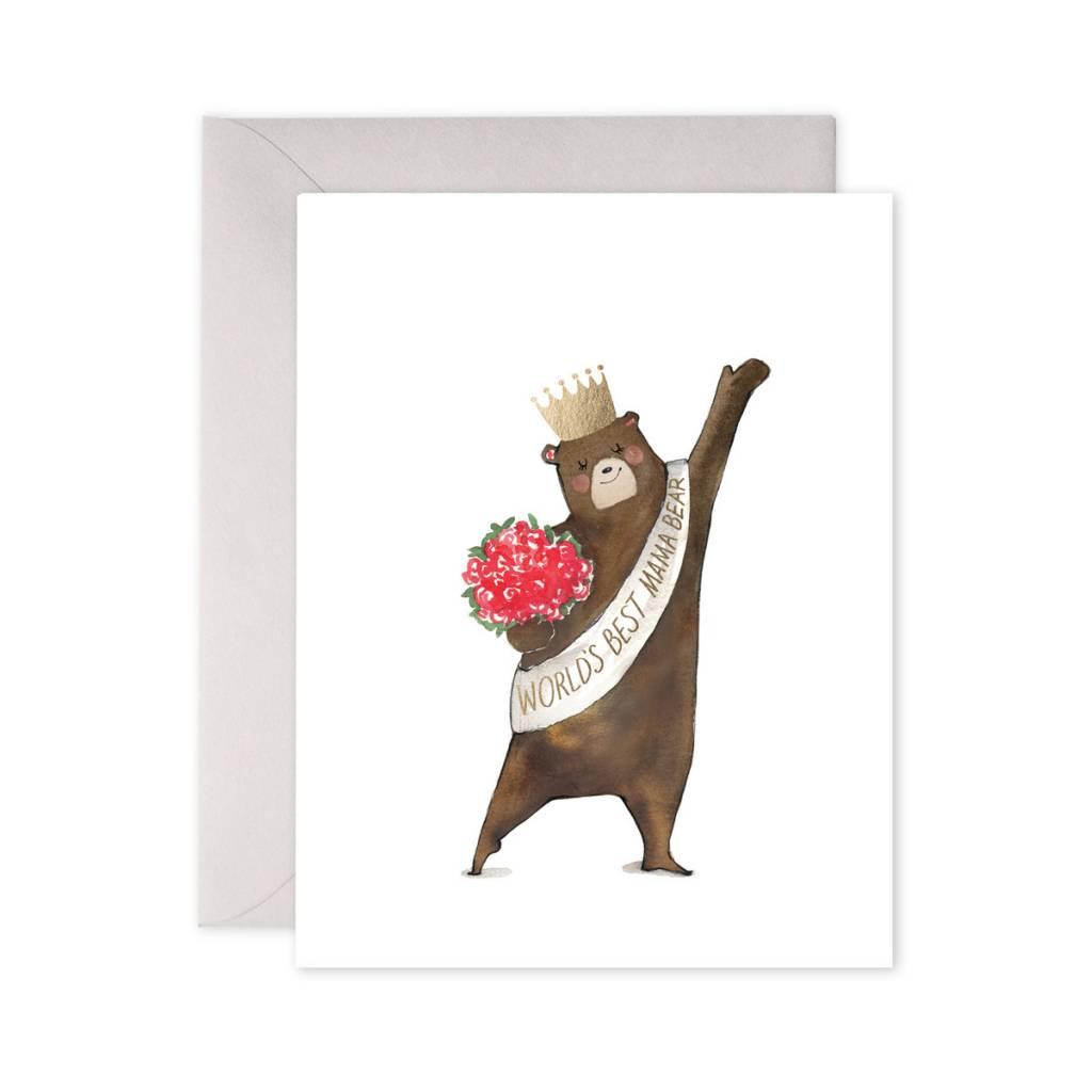 E. Frances Paper Studio World's Greatest Mama Bear Card