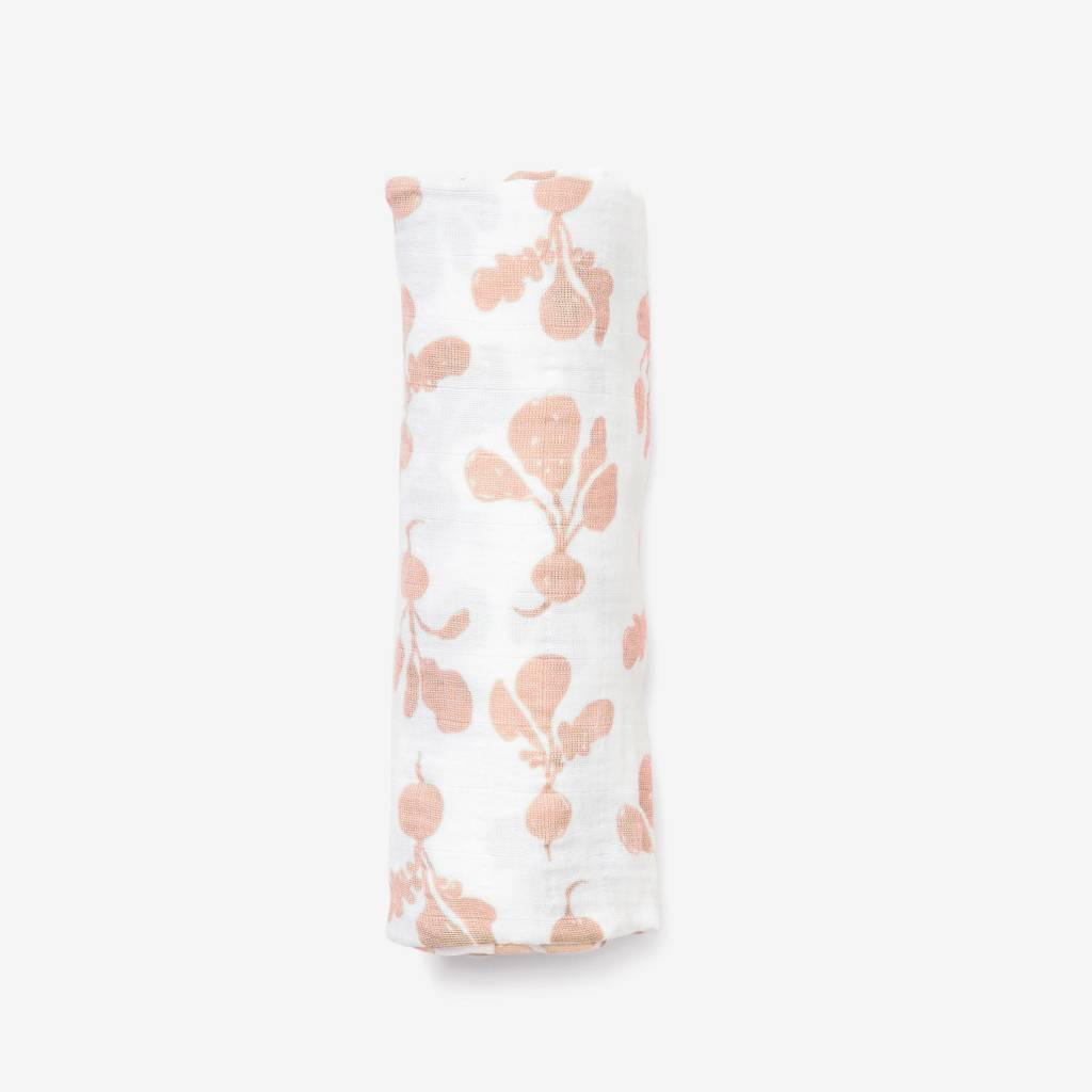 Lewis Home Radish Blush Swaddle