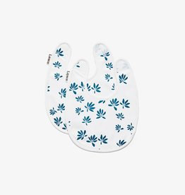 Lewis Home Palm Captain's Blue Bib Set