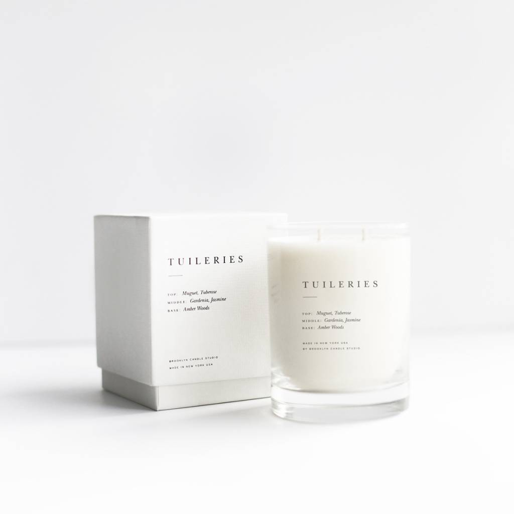 Brooklyn Candle Studio Tuileries Escapist Collection Candle