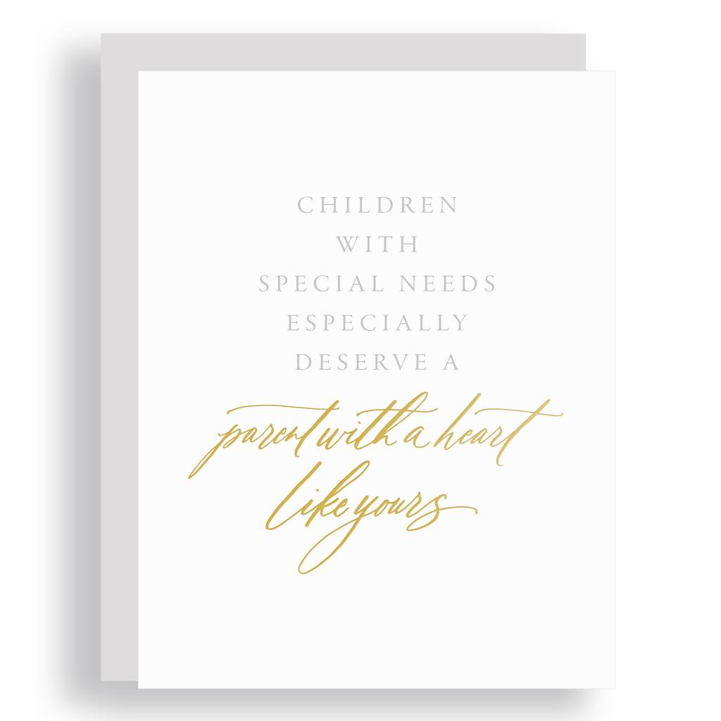 Little Well Paper Co - LWP Special Needs Parenthood Greeting Card