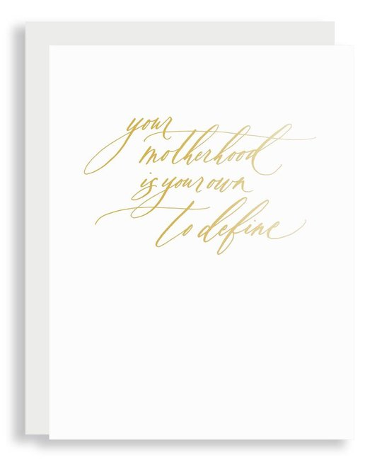 Little Well Paper Co - LWP Motherhood Is Your Own Mom Card