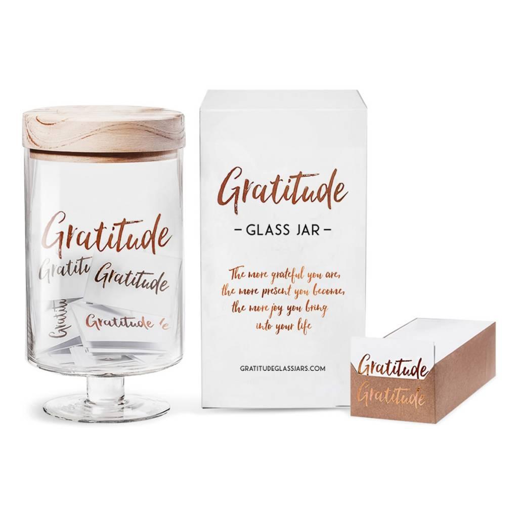 Gratitude Glass Jars GGJBG - Gratitude Glass Jar