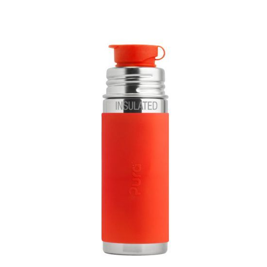 Pura Pura Kiki® 9oz Insulated Sport Bottle with sleeve