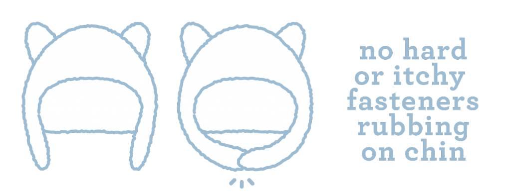 c385cab42540 Magnetic Bears Cream Ombre Fleece Hat - ZukaBaby