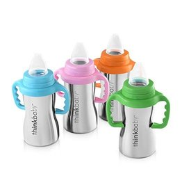 thinkbaby thinkbaby Sippy of Steel 9oz