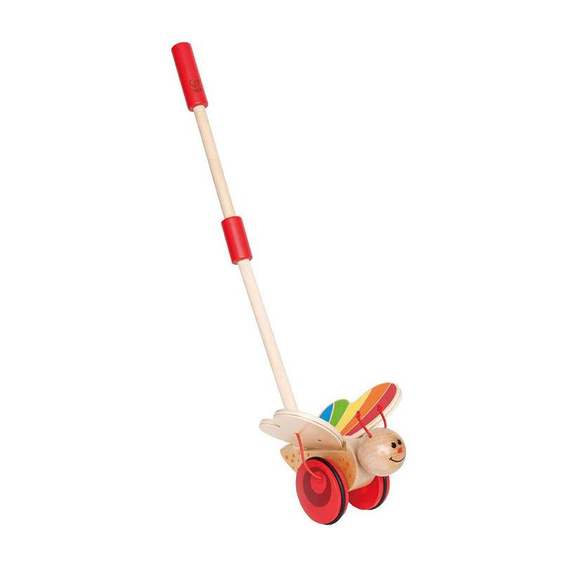 Hape Hape Wooden Push & Pull Pals Butterfly