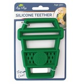 Itzy Ritzy Latte Silicone Teether
