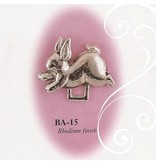 Collectables America Bunny Pewter Paci Holder