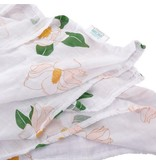 Little Hometown Southern Magnolia Bamboo Swaddle