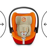 CYBEX CYBEX Cloud Q Plus Infant Car Seat (floor model- curbside pickup only)