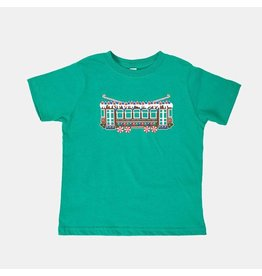 Bon Temps Boutique Gingerbread Streetcar Classic Tee- Green