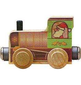 Maple Landmark Name Train Santa Engine