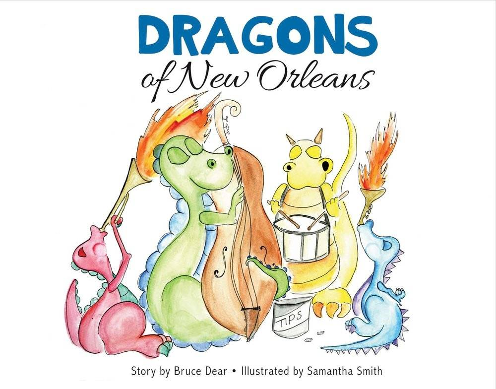 Books Dragons of New Orleans