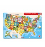 Janod Toys Janod Magnetic USA Map