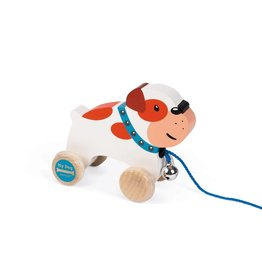 Janod Toys Janod My Dog Pull Along Bulldog