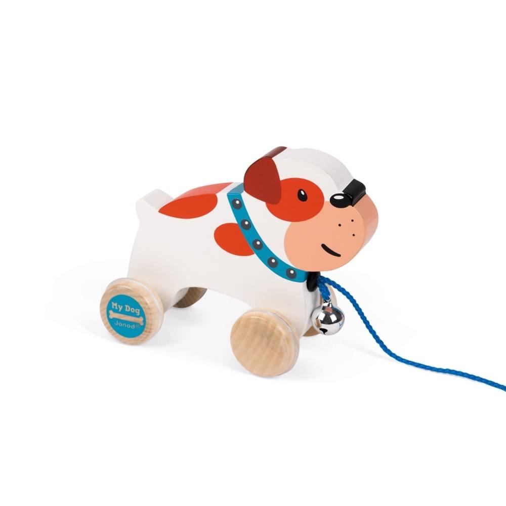 Janod Toys Janod My Dog Pull Along Bulldog