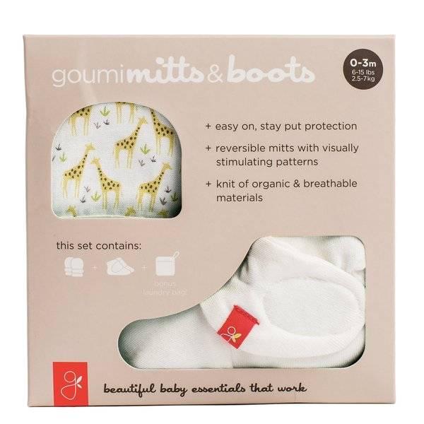 goumikids goumi Organic Mitt + Bootie Set (0-3mo)