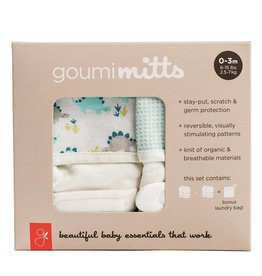 goumikids goumi Organic 2-pk Mitt Set 0-3mo